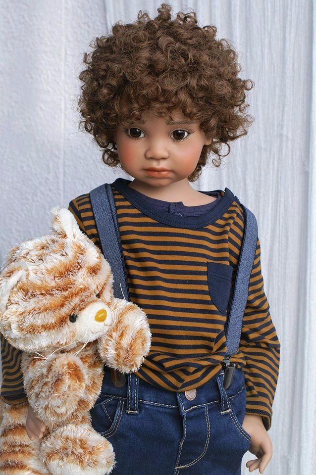 Новые коллекционные куклы от Angela Sutter. Часть вторая ...