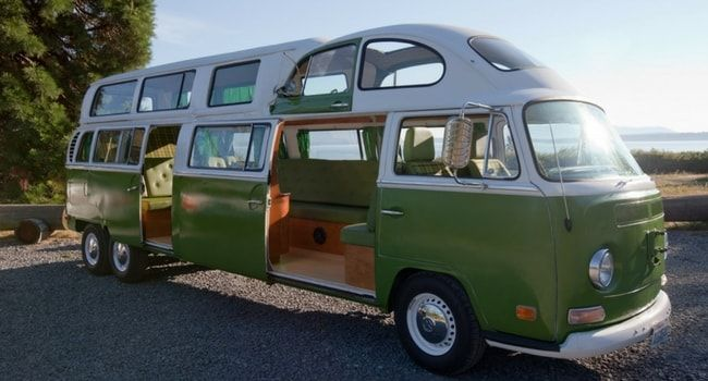 Super camping car/vintage/combi/wikicampers | #Campingcar insolite  DS76