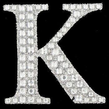 Silver Glitter Rhinestone Letter Sticker K Hobby Lobby 605055 In 2020 Bling Sticker Letter Stickers Rhinestone Letters