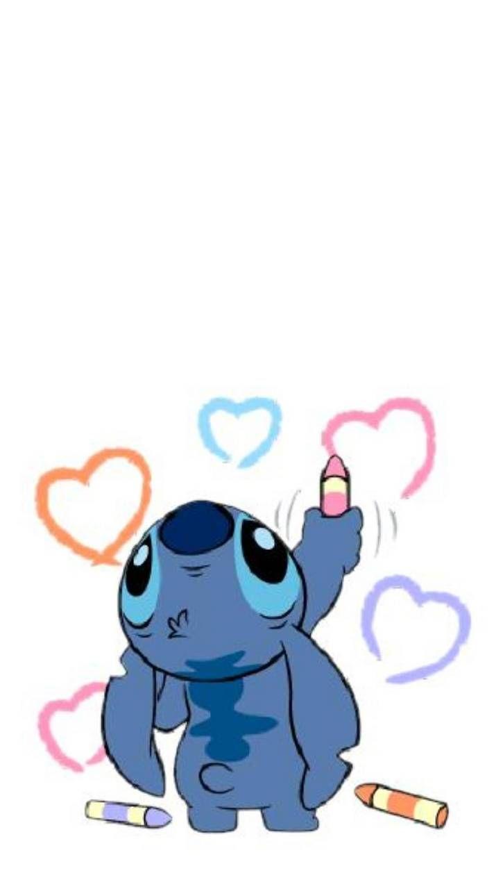 Loving You Cute Disney Wallpaper Cartoon Wallpaper Iphone Stitch Drawing