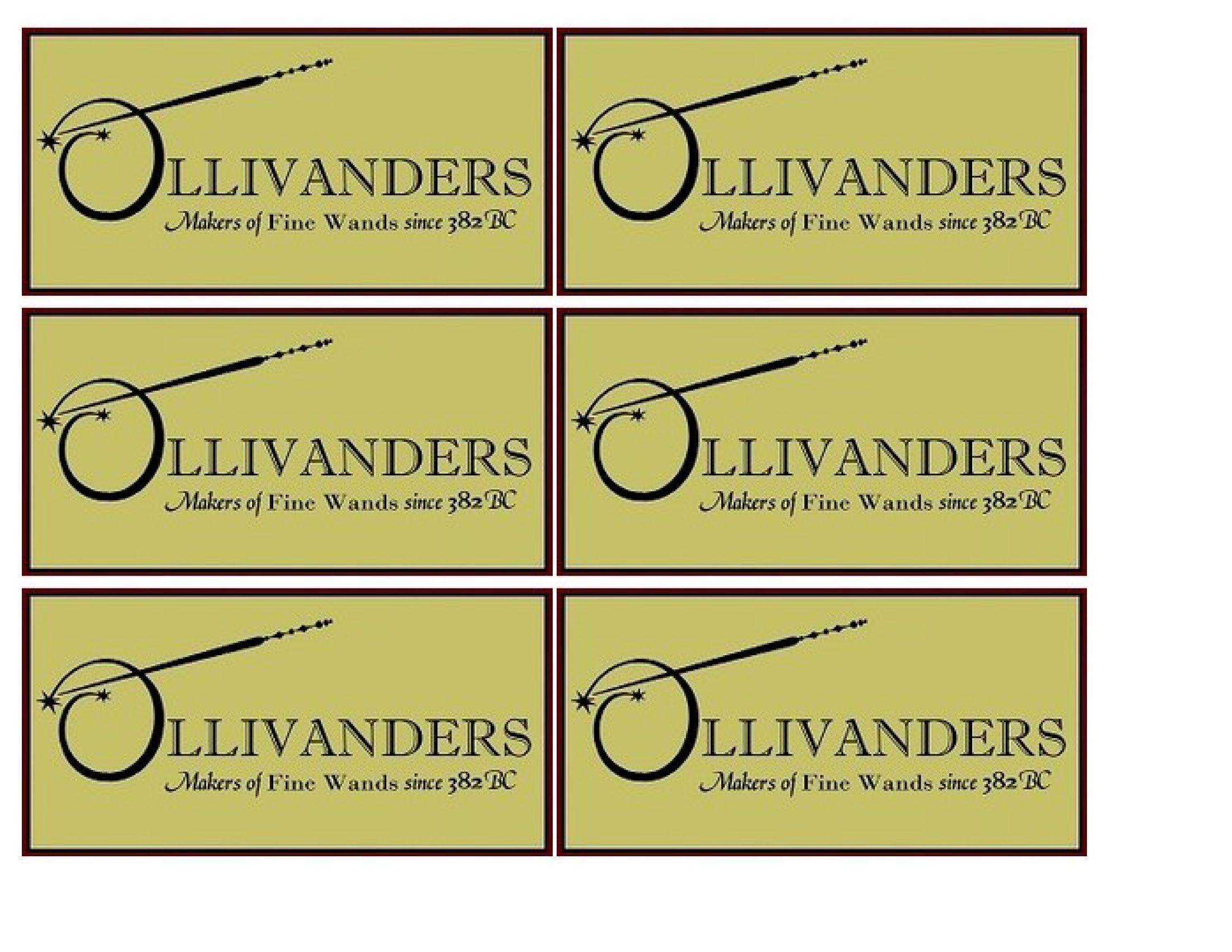 Harry Potter Inspired Wand Box - Ollivanders Wand Box ...