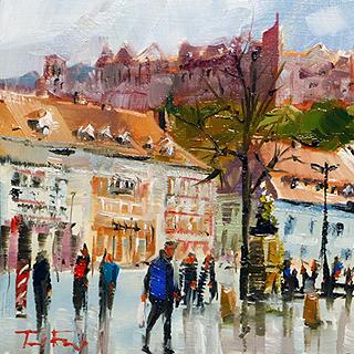 Jurij Frey: Heidelberg, Kornmarkt