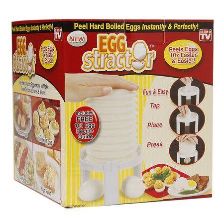 Eggstractor Egg Peeler 1 ea Baking gadgets, Healthy