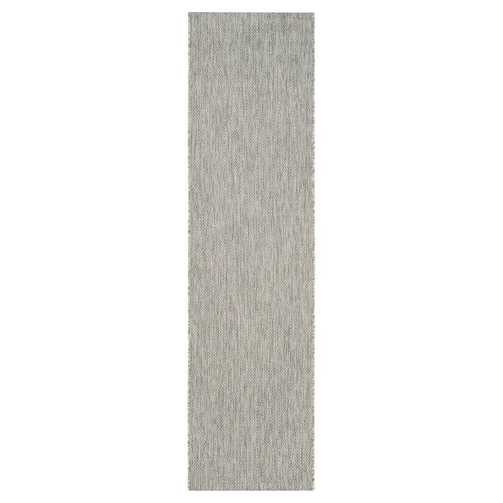Ravello Rectangle 4'X5'7 Patio Rug - Grey - Safavieh, Gray