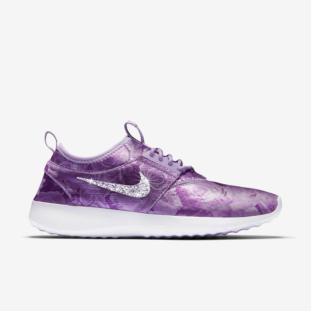 Sneaker * Nike * Glitzer * Swarovski * violet lila Flieder