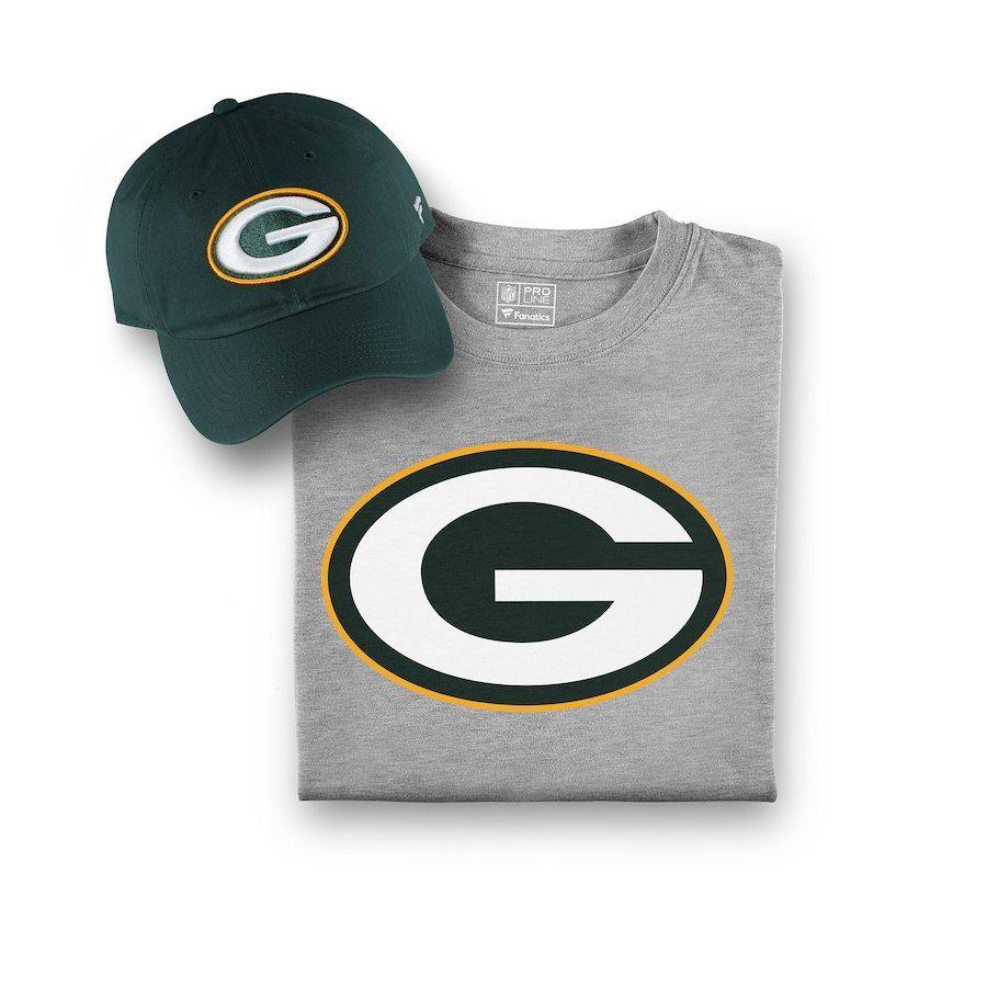 177749eecf0 Men s Green Bay Packers NFL Pro Line by Fanatics Branded Green Gray T-Shirt