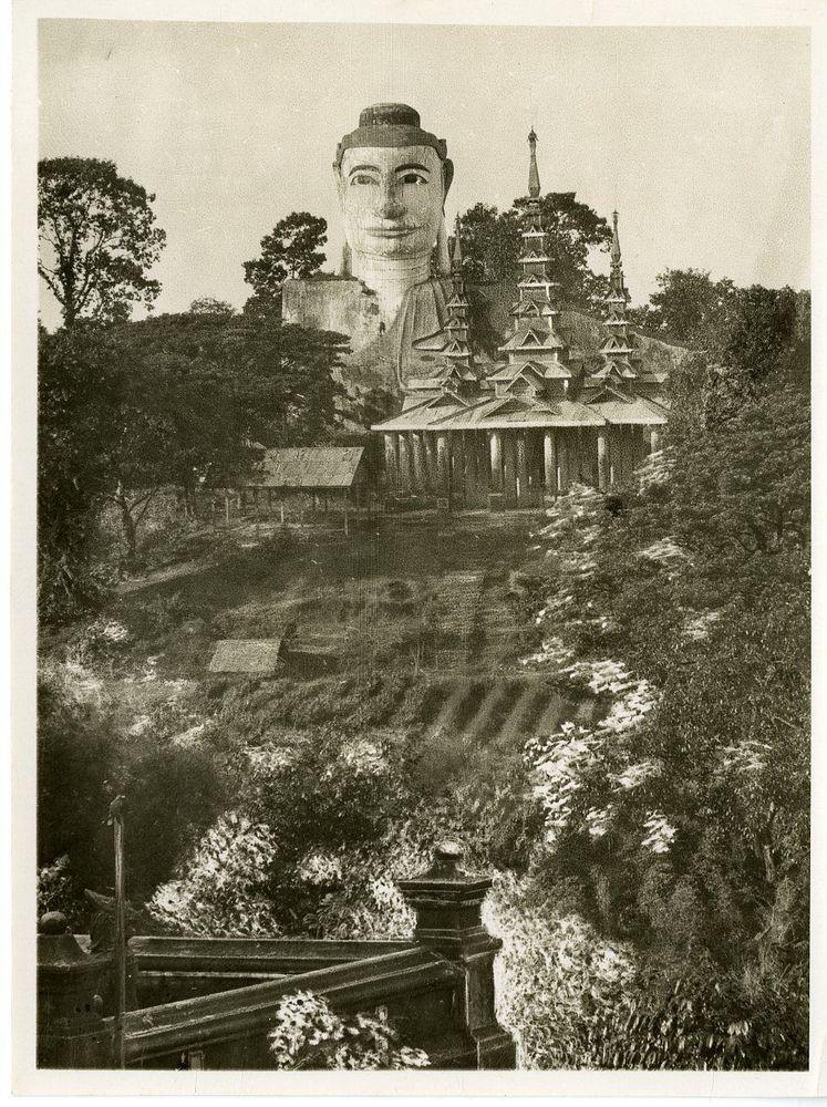 Birmanie, Rangoon Burma. Vintage print. Tirage argentique  15x20  1930  Bu