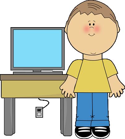 Boy Classroom Computer Technology Expert Clip Art - Boy Classroom ...