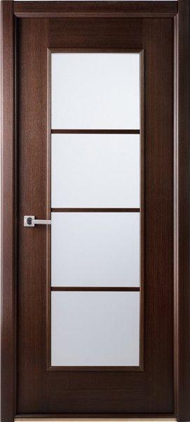 Modern Lux Wenge African Wenge Interior Single Door