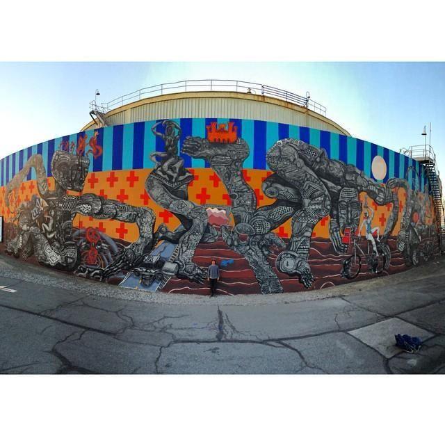 Amazing new wall piece by the bay areas own @ZioZiegler #art #streetart #inspiration pic.twitter.com/vUBHykSonD