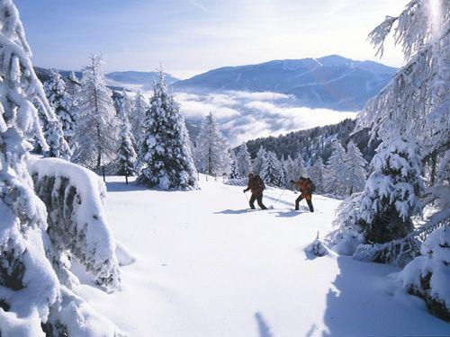 Winterwandern in den Nockbergen, vom 06.01 bis 06.04.2015, 4 oder 7 Nächte Highlight: 4/7 Übernachtungen mit 3/4-Verwöhn-Pension, Geführte Schneeschuhwanderungen (2-3h, inkl. Schneeschuhe) oder Langlaufkurs (2h) inkl. Ausrüstung Wanderrucksack mit Fernglas und täglich Lunchpaket, GRATIS W-LAN, ab € 376,- pro Person & 4ÜN, ab € 630,- pro Person & 7ÜN www.almrausch.co.at