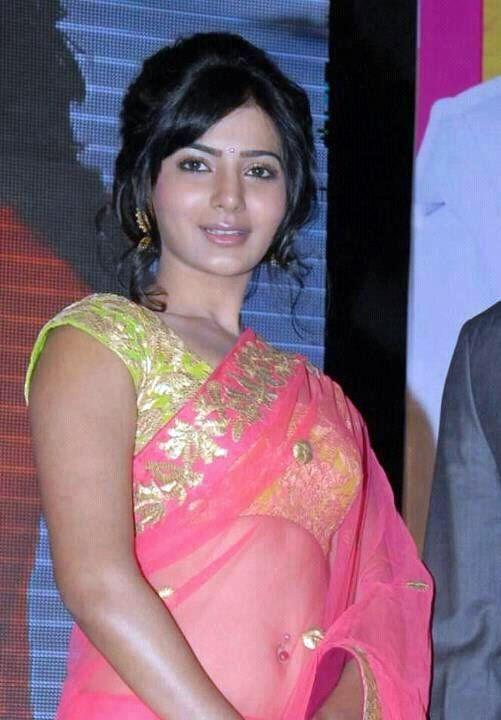 North Indian beautiful actress in saree
