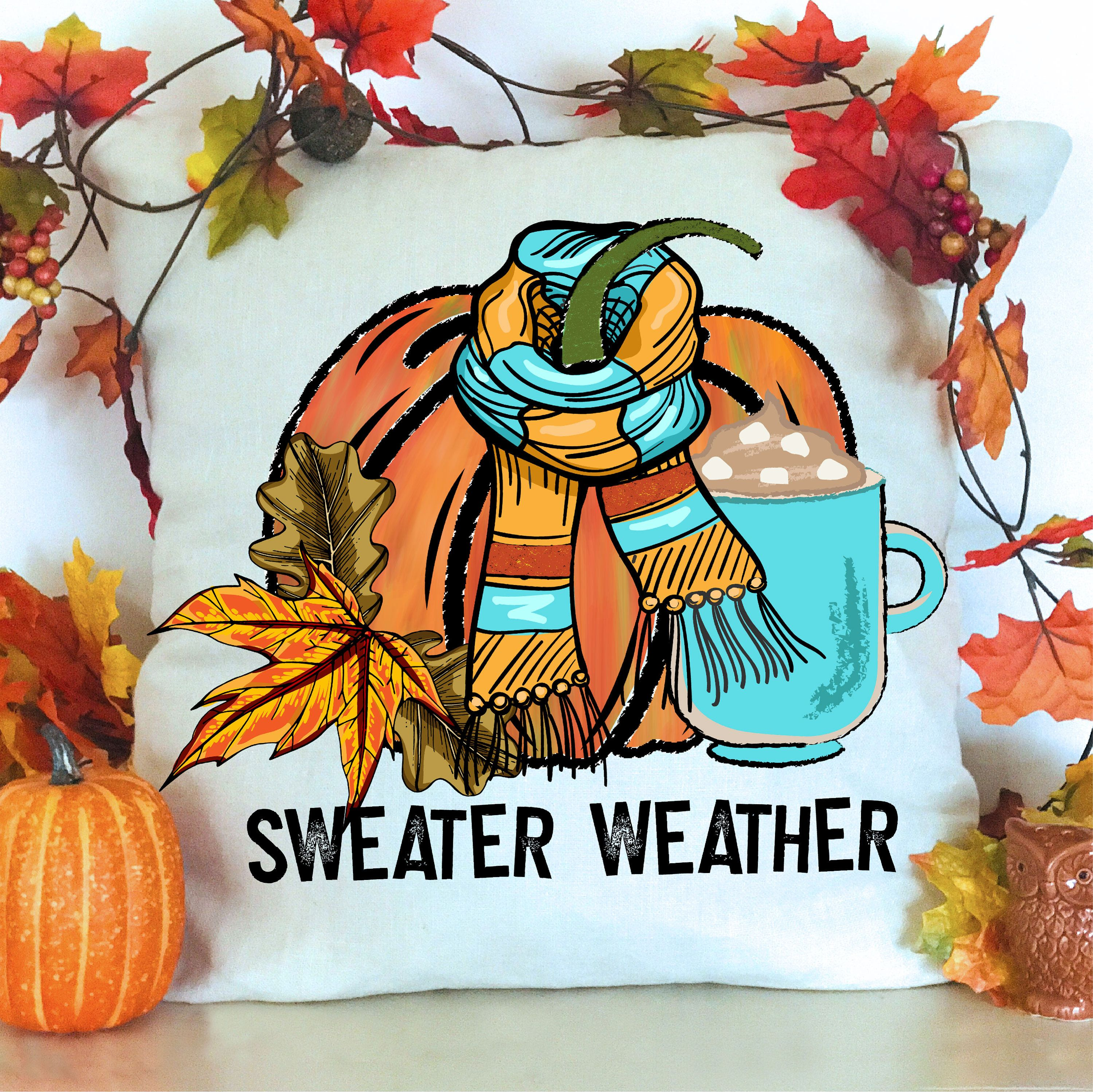 Sweater Weather Png File For Sublimation Printing Dtg Printing Etsy In 2020 Prints Sweater Weather Sublime