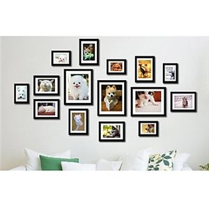 moderne wand bilderrahmen 15er set bilderrhmen in 2019 pinterest cadres mur de cadres und. Black Bedroom Furniture Sets. Home Design Ideas