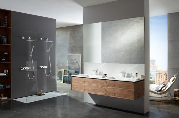 badausstattung badeinrichtung begehbare dusche badgestaltung ideen ... - Badgestaltung Fliesen Ideen