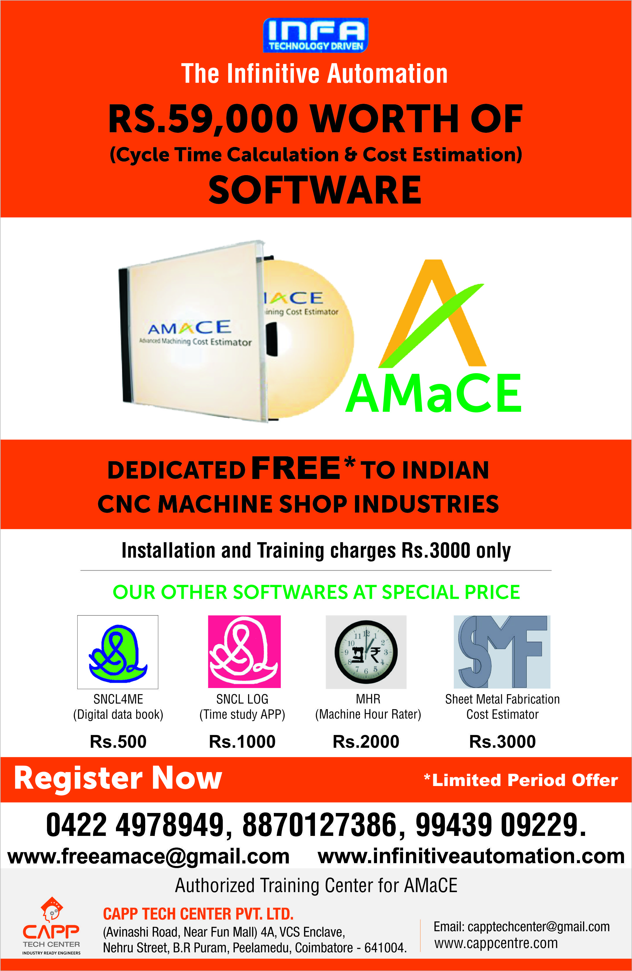 We The Infinitive Automation Provide Solutions for Cost