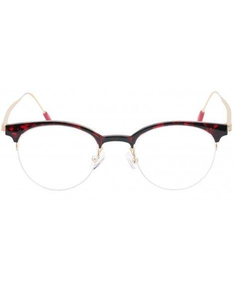 e8f688a617d4d Red Rimless Cat Eye Glasses - Siphosjamaica