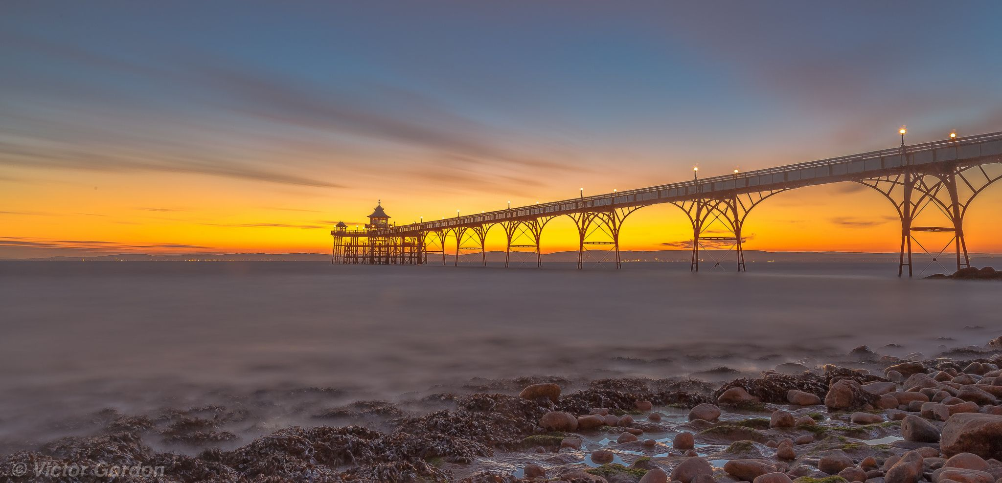 Clevedon Pier II by Victor Gordon on 500px