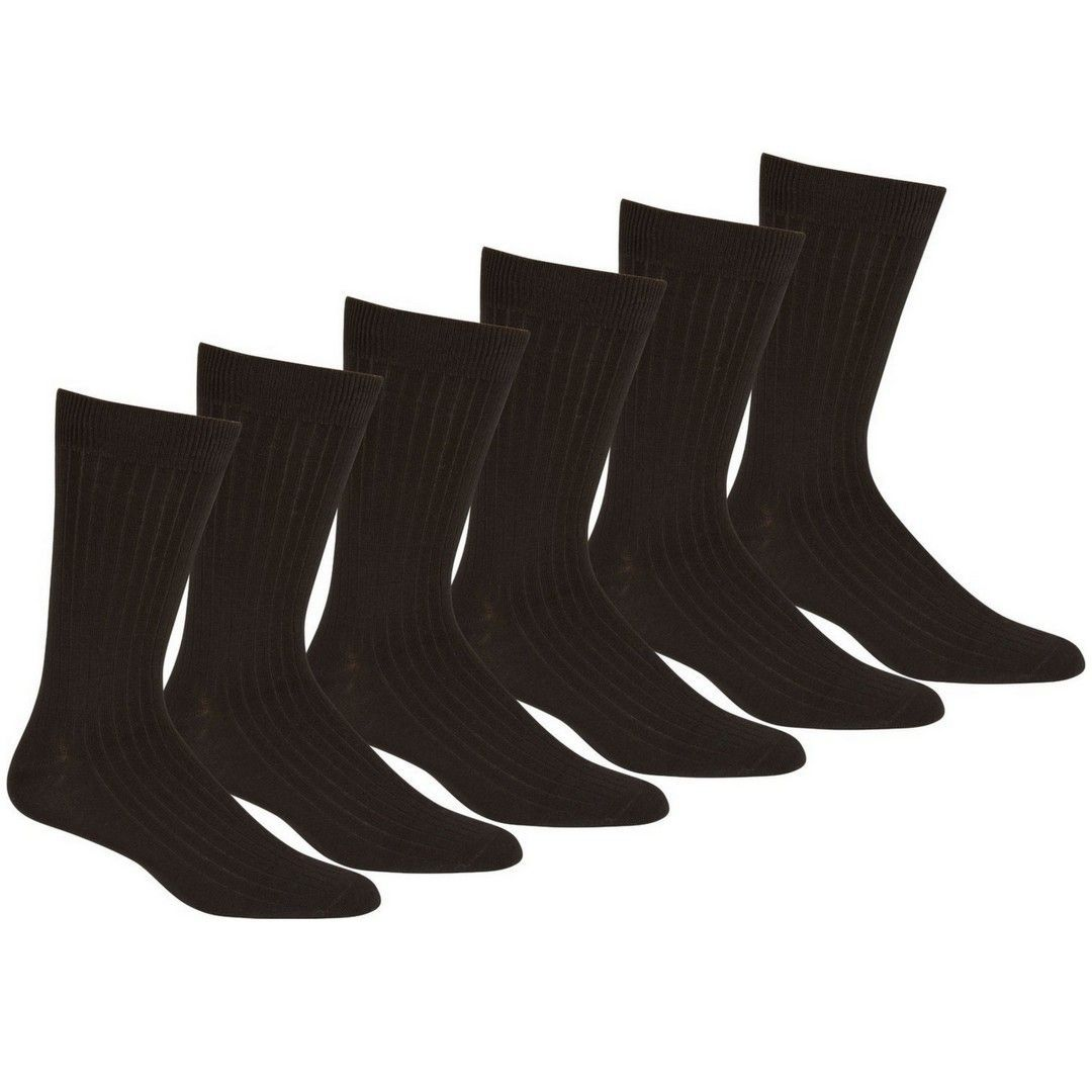 Sakkas Men S Cotton Blend Ribbed Dress Socks Black Dress Socks Dress Socks Plain Dress [ 1080 x 1080 Pixel ]