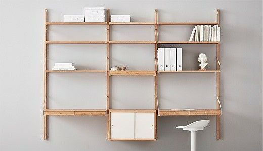 timeless design b66ea 55113 Pin by 政廷 韓 on 別墅靈感 | Ikea shelf unit, Modular ...