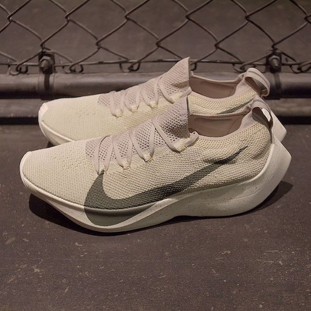 8dce8978e055 The NIKE REACT VAPOR STREET FLYKNIT releases this week in these two STRING   amp  OLIVE