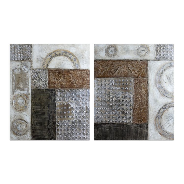Connection Collection Modern Art (Set of 2) 41801
