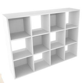 Gentil ClosetMaidWhite 12 Cube Organizer Bigger Option For Shoes/bags Storage Unit