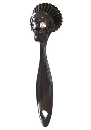 Skull Kitchen Sink Brush
