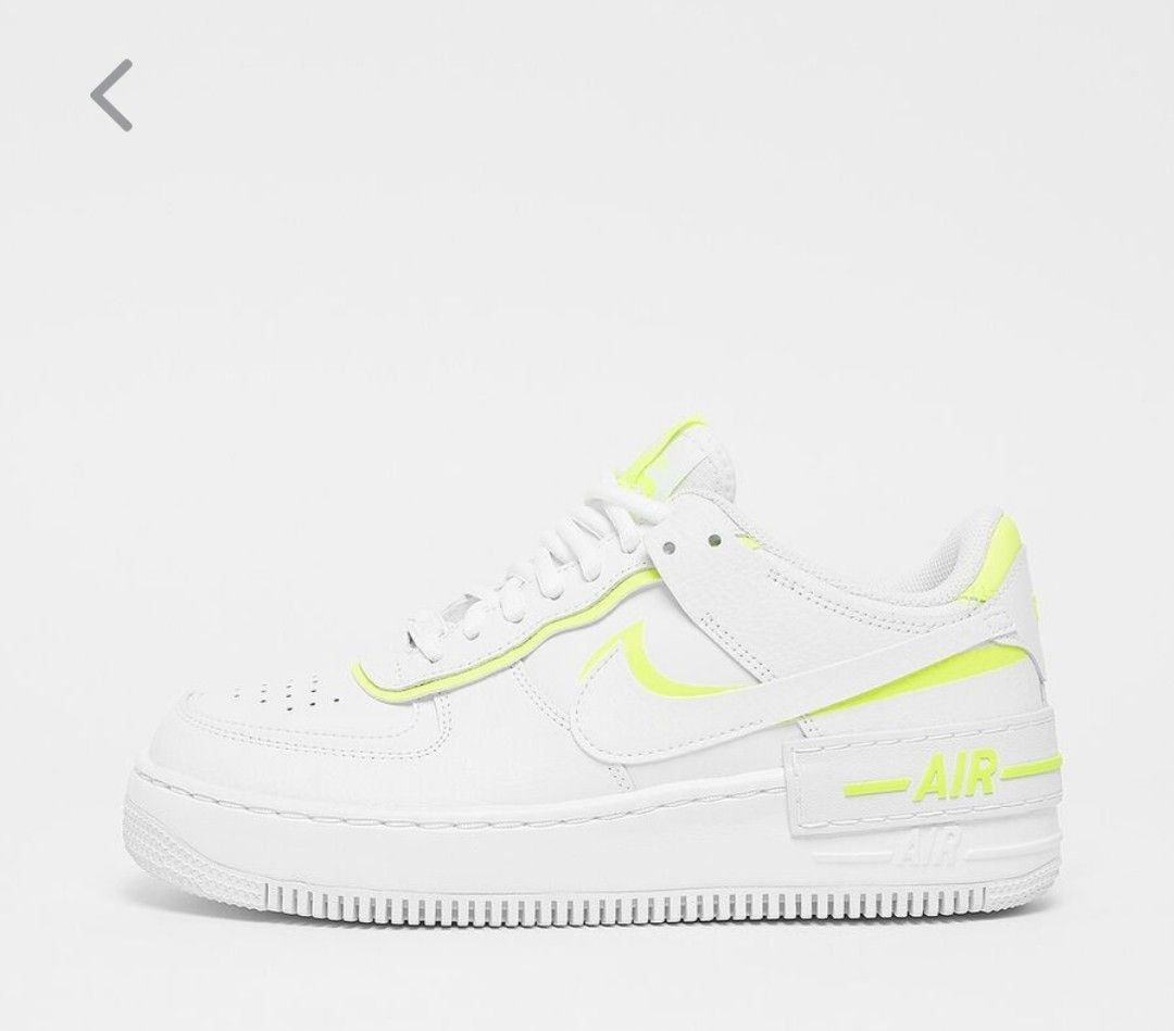 NIKE WMNS Air Force 1 Shadow / yellow