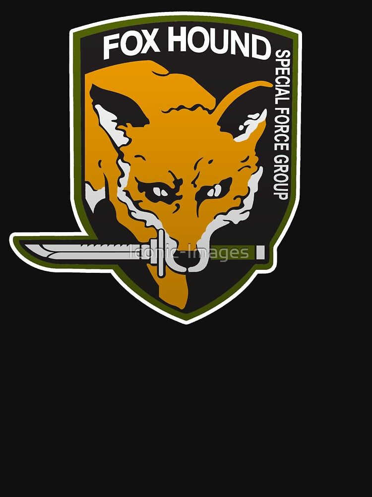 Fox Hound Special Force Group Essential T Shirt By Iconic Images In 2020 The Fox And The Hound Special Force Group Special Force