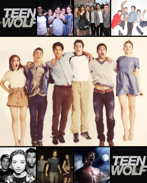 Cast of Teen Wolf being funny. LOL. :P