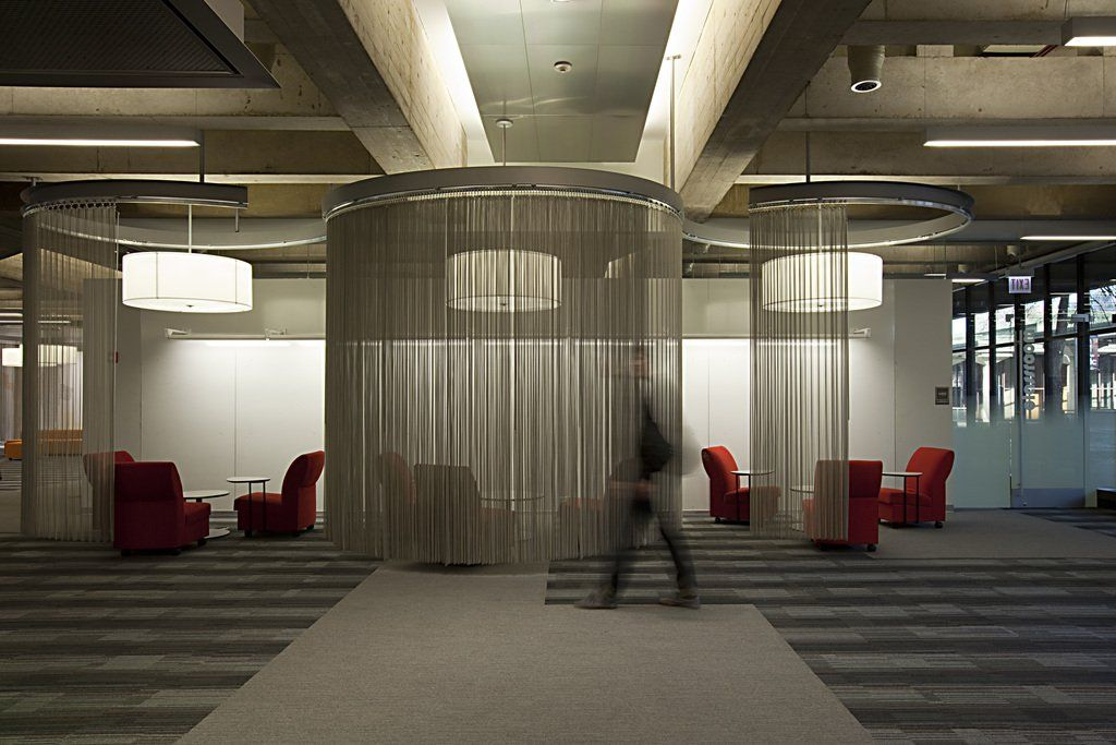 Fabricoil™ Interior Partition Systems from Cascade