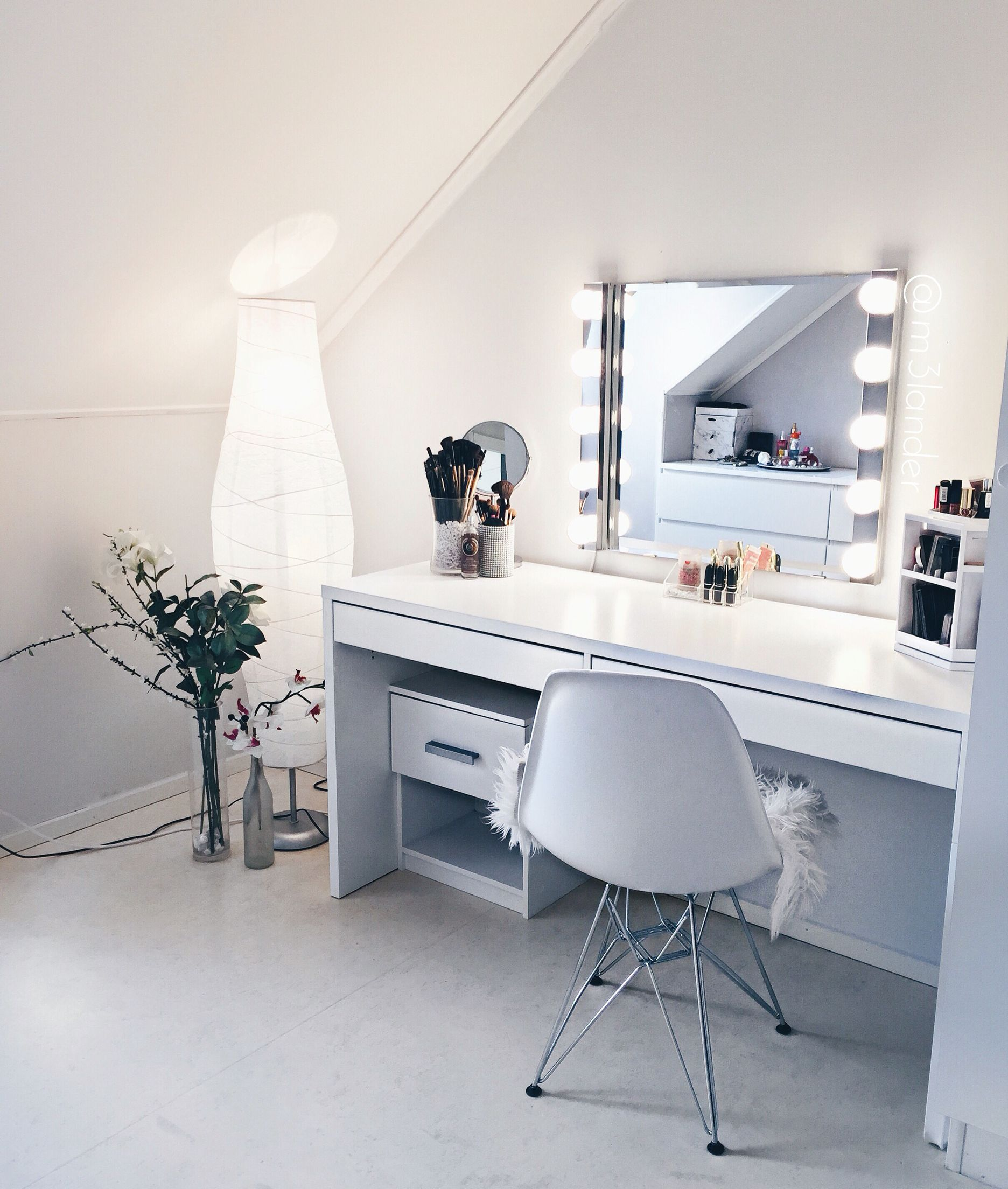 my #beautyroom #home, #makeup,  Room decor bedroom, Makeup room