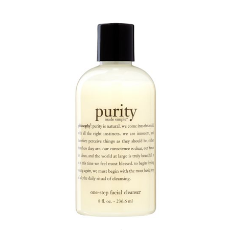 Philosophy Philosophy Purity Made Simple One Step Facial Cleanser Face Wash For All Skin Types 8 Fl Oz Walmart Com Purity Made Simple Facial Cleanser Best Facial Cleanser