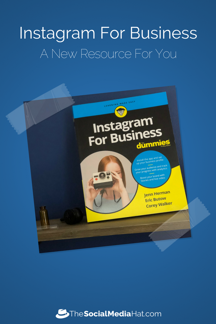 Want To Use Instagram For Business Buy This Book Digital Marketing Strategy Digital Marketing Social Media