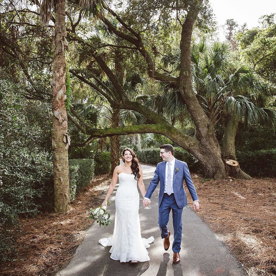 These Two Are Now Hily Married And We Can T Wait To Share More Photos Next Week From The Rubinzief Wedding On Kiawahisland