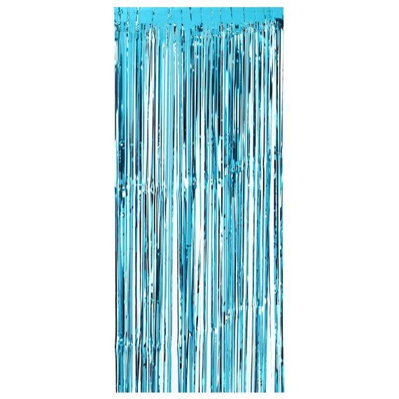 Ocean Curtain Fringe Tassel Wedding Decor Metallic Foil Photo Backdrop Birthday Party Door Frame Dec #curtainfringe