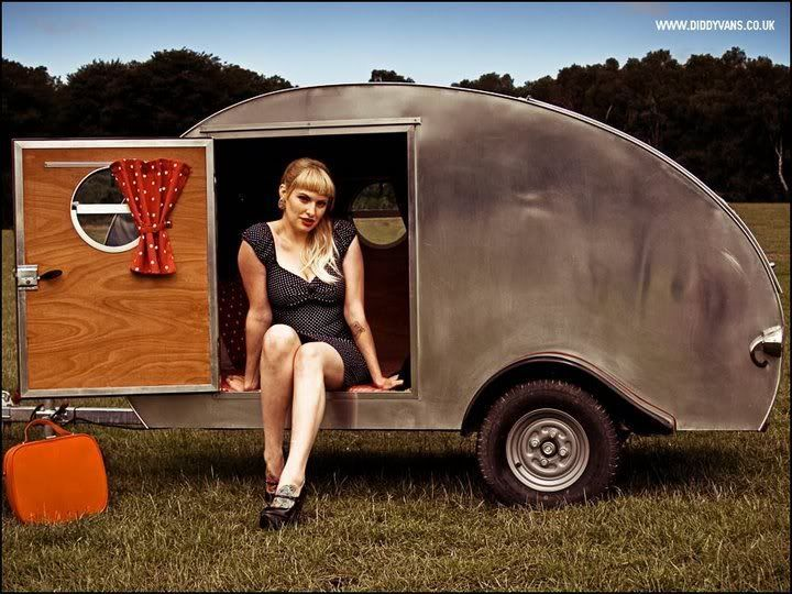 Diddyvans Custom Teardrop Trailer Mini Caravan Manufacturer