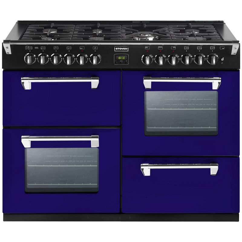 Stoves 444441330 Midnight Gaze Gas Range Cooker 110cm - Dark Blue ...