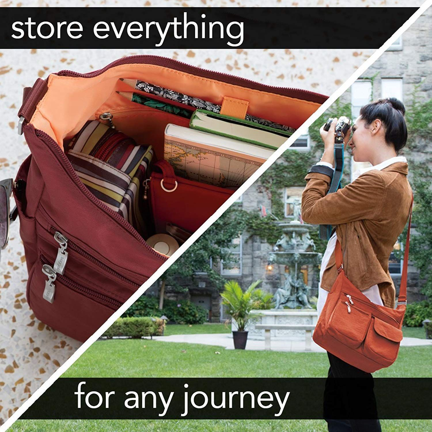 fd66d1583fbd Baggallini Everywhere Bagg With Rfid     Read more at the image link. (This  is an affiliate link)  Travelaccessories