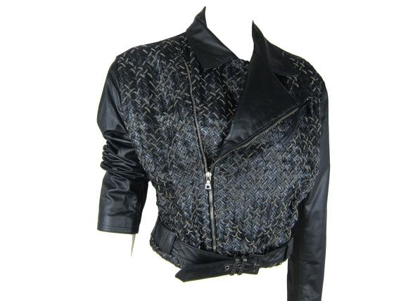 975d05a6 GIANNI VERSACE AW 1994 Chainmail Leather Biker Jacket | HA/VERSACE ...