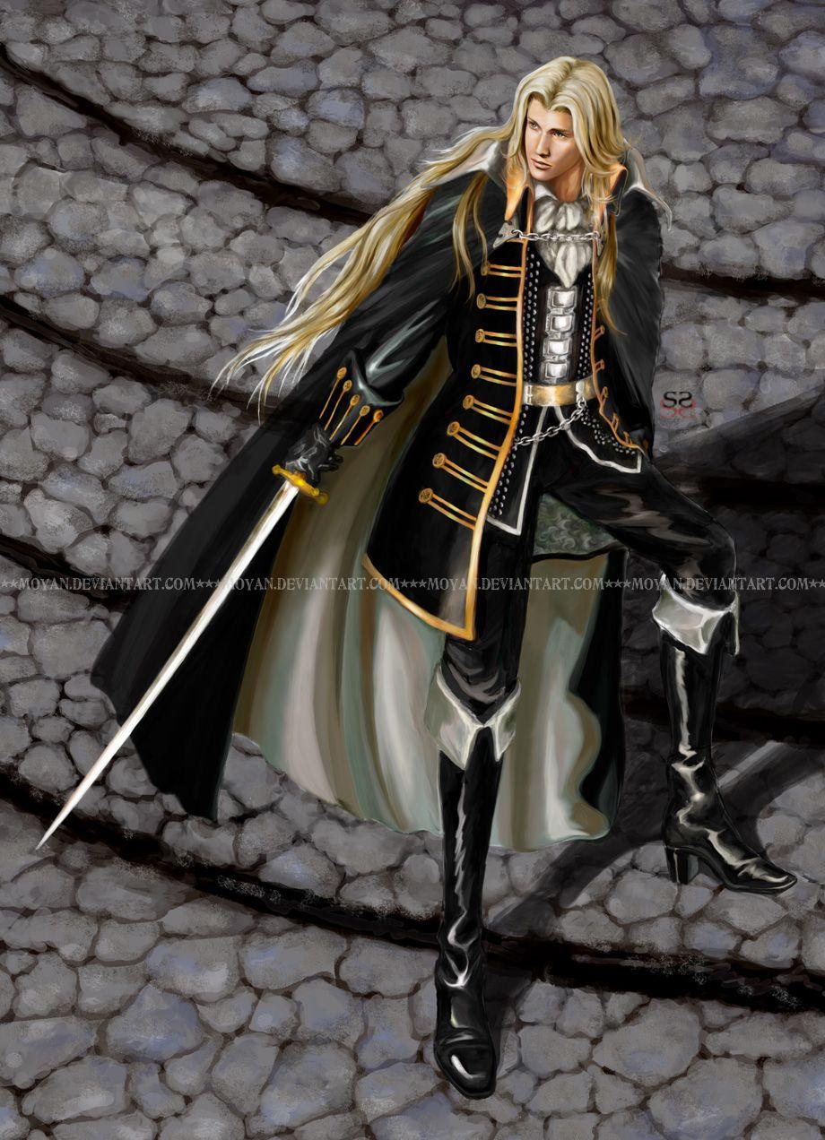 Alucard, Symphony of the Night by moyan on DeviantArt