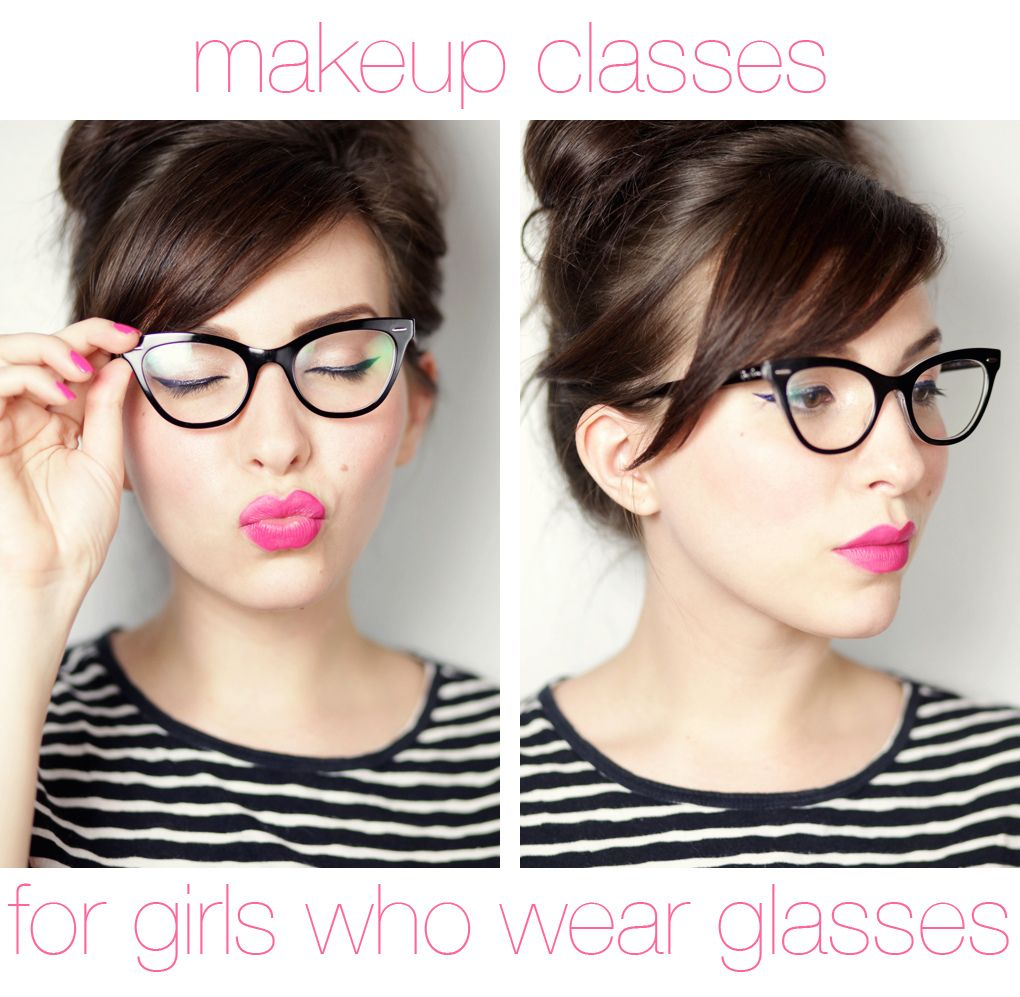 Makeup Monday Girls Who Wear Glasses Bangs Glasses Hairstyles