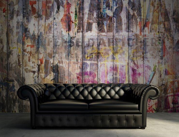 Papier peint Graffiti on Boards de Rebel Walls   Walls   Pinterest ...