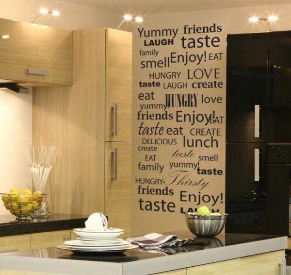 Wanddeko Küche beige wandtattoo sprüche Küche Pinterest - wandtattoos spr che k che