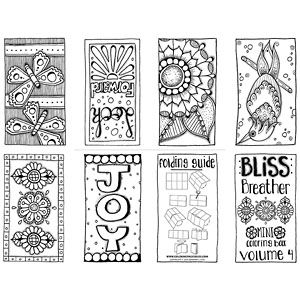 New Mini Coloring Books | Coloring books, Hand drawn and Adult ...