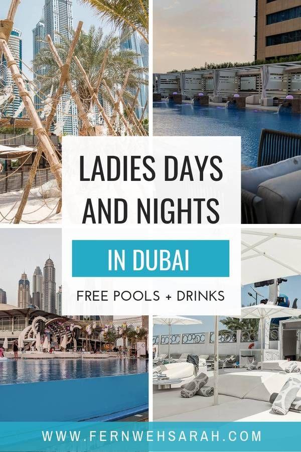 Ladies Days in Dubai – Piscines Instagram et boissons gratuites! ⋆ Fernwehsarah