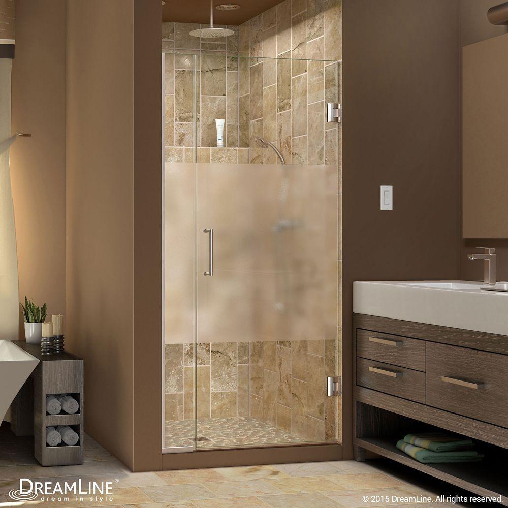 Unidoor Plus 29 1 2 Inch To 30 Inch X 72 Inch Hinge Shower Door