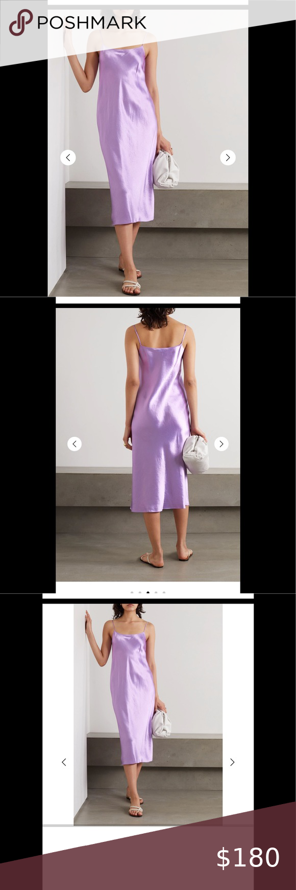 Nwt Vince Purple Slip Midi Dress Size Xs Brand New With Original Tags Always Open To Reasonable Offers Please Let Me Midi Dress Vince Dress Free People Boots [ 1740 x 580 Pixel ]