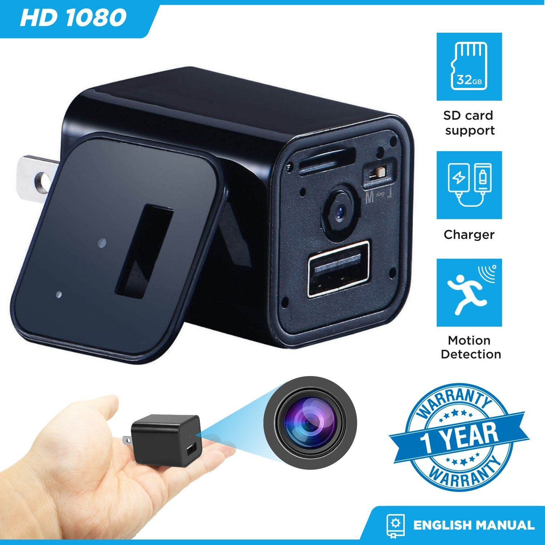 SECRET Mini Micro SPY HD Cam Hidden Camera 32GB Video USB DVR Recording SpyCam